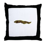 Chain Moray Eel Throw Pillow