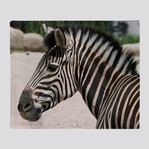 Zebra021 Throw Blanket