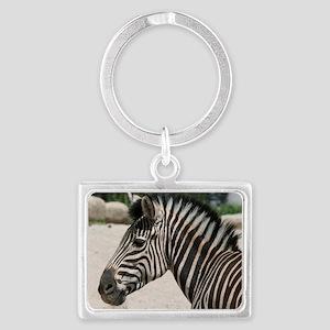 Zebra021 Landscape Keychain