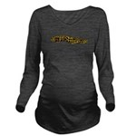 Chain Moray Eel c Long Sleeve Maternity T-Shirt