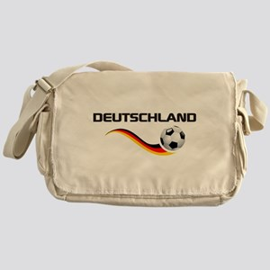 Soccer Deutschland 1 Messenger Bag