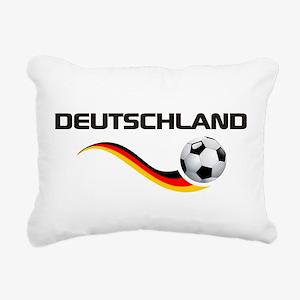 Soccer Deutschland 1 Rectangular Canvas Pillow