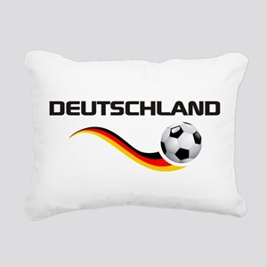 Soccer Deutschland 1 Rectangular Canvas Pillow