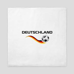 Soccer Deutschland 1 Queen Duvet