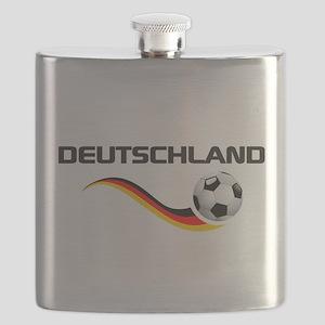 Soccer Deutschland 1 Flask