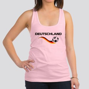 Soccer Deutschland 1 Racerback Tank Top