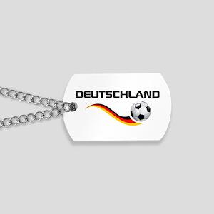 Soccer Deutschland 1 Dog Tags