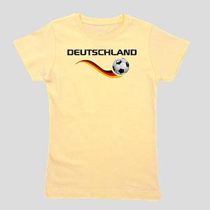 Soccer Deutschland 1 Girl's Tee