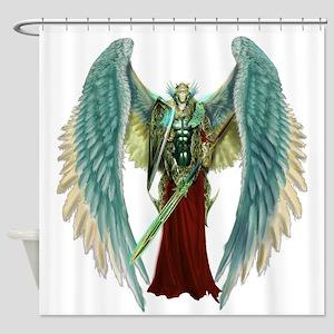 Angel Michael Shower Curtain