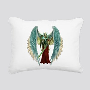 Angel Michael Rectangular Canvas Pillow