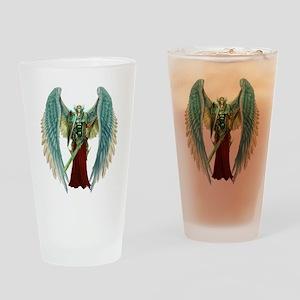Angel Michael Drinking Glass