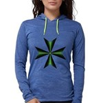 Green Maltese Cross Long Sleeve T-Shirt