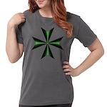 Green Maltese Cross T-Shirt