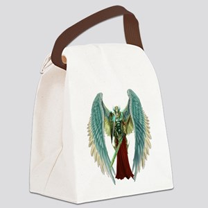 Angel Michael Canvas Lunch Bag