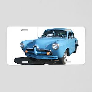 TorquoiseHJToo Aluminum License Plate