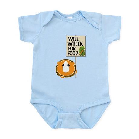 Will Wheek for Food Infant Bodysuit