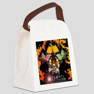 Athena's Dragon Logo Canvas Lunch Bag