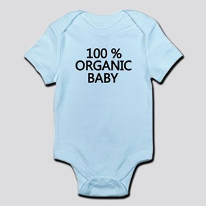 100% ORGANIC BABY SHIRT Body Suit