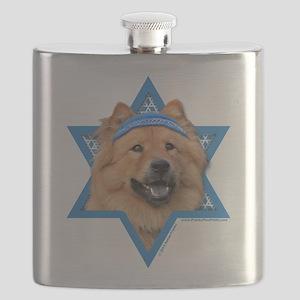 Hanukkah Star of David - Chow Flask