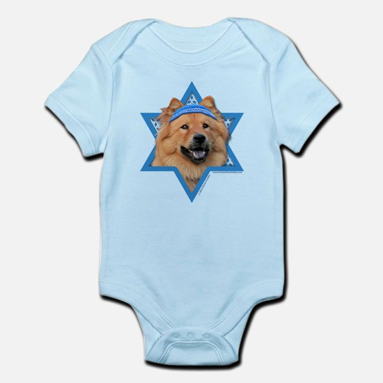 Hanukkah Star of David - Chow Infant Bodysuit