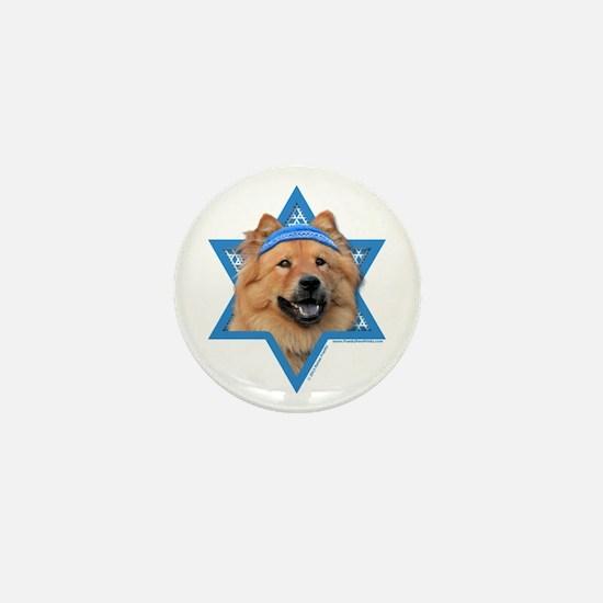 Hanukkah Star of David - Chow Mini Button