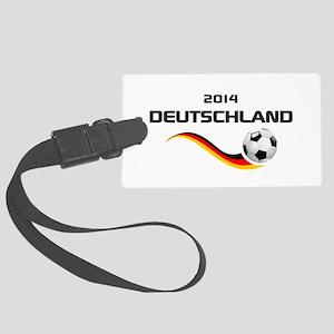 Soccer DEUTSCHLAND 2014 Luggage Tag