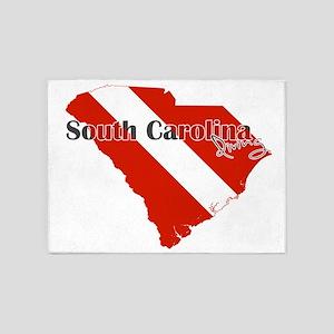 South Carolina Diver 5'x7'Area Rug