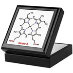 Molecularshirts.com Heme Keepsake Box
