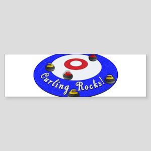 Curling Rocks! Bumper Sticker