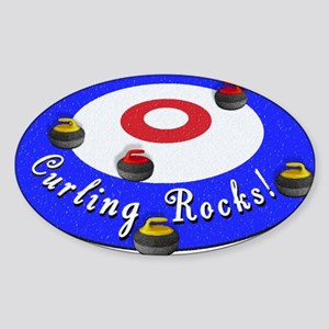 Curling Rocks! Sticker