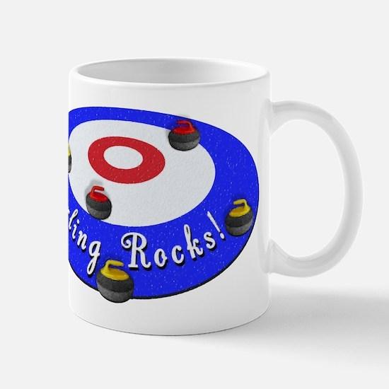 Curling Rocks! Mugs