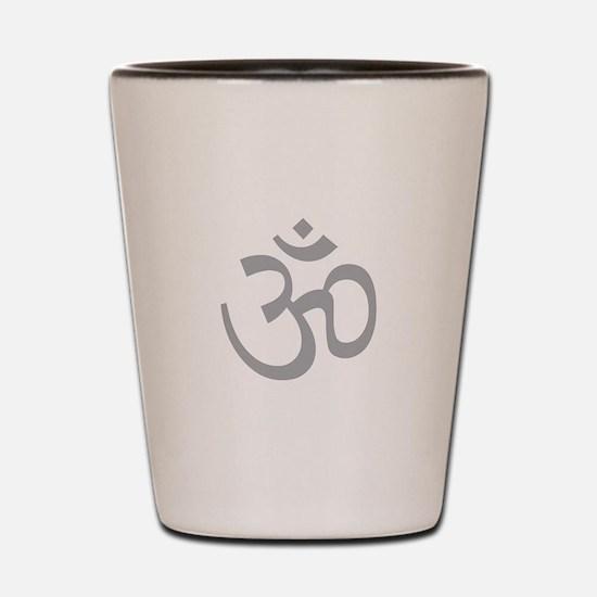 Yoga Ohm, Om Symbol, Namaste Shot Glass