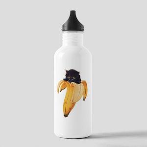 Banana Kitty Stainless Water Bottle 1.0L