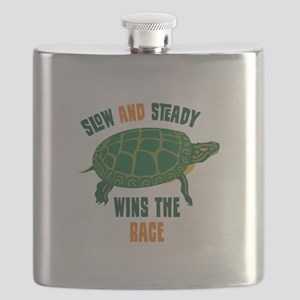 Slow and Steady Wins the Race Flask