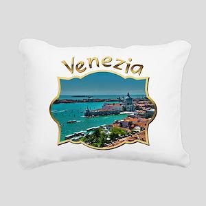 Canal Grande | Venice Rectangular Canvas Pillow