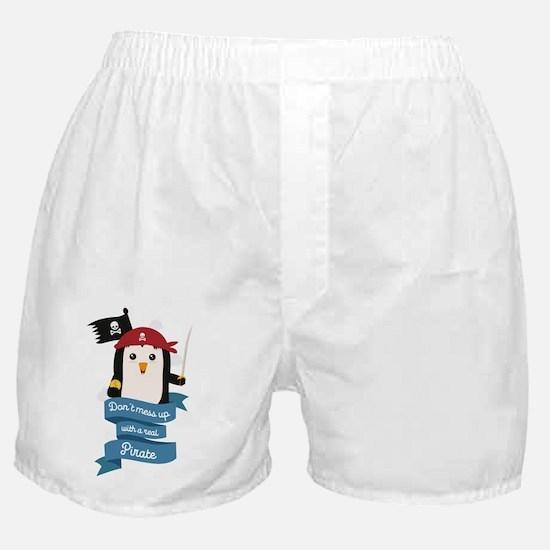 Unique Woman marine Boxer Shorts