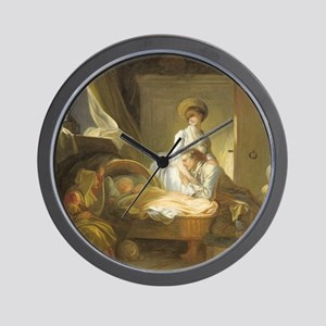 The Visit to the Nursery Wall Clock