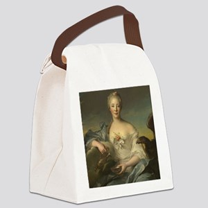 Jean-Marc Nattier - Madame Le Fev Canvas Lunch Bag