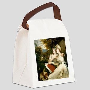 John Hoppner - The Frankland Sist Canvas Lunch Bag
