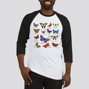 Butterfly Illustrations full colored Baseball Jers