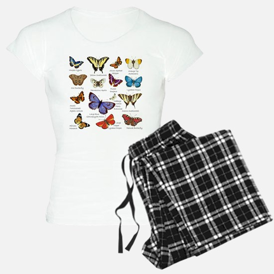 Butterfly Illustrations full colored Pajamas