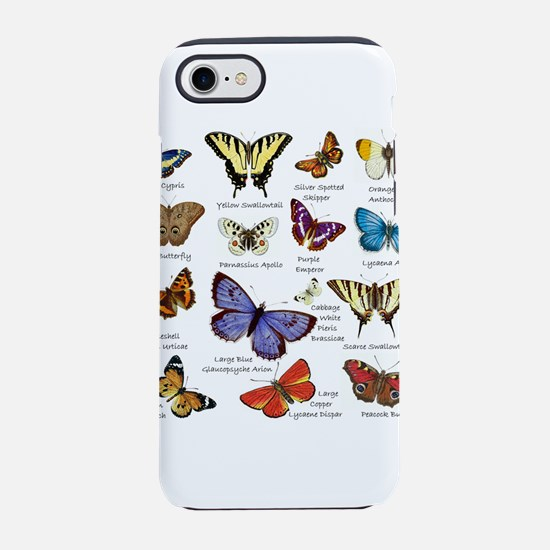 Butterfly Illustrations full colored iPhone 7 Toug