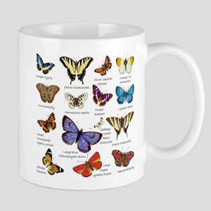 Butterfly Illustrations full colored Mugs
