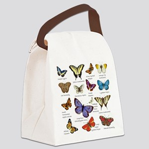Butterfly Illustrations full colored Canvas Lunch