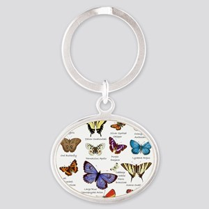 Butterfly Illustrations full colored Keychains