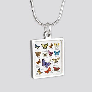 Butterfly Illustrations full colored Necklaces