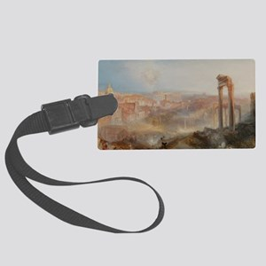 Modern Rome - Campo Vaccino Large Luggage Tag
