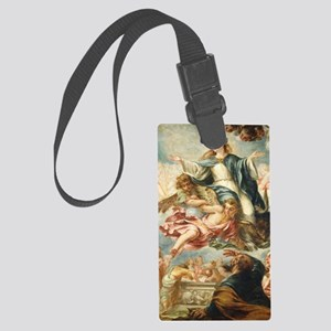 The Assumption of the Virgin Large Luggage Tag