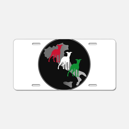 Funny Sighthound Aluminum License Plate