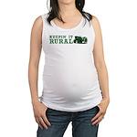 Keepin it RURAL Maternity Tank Top